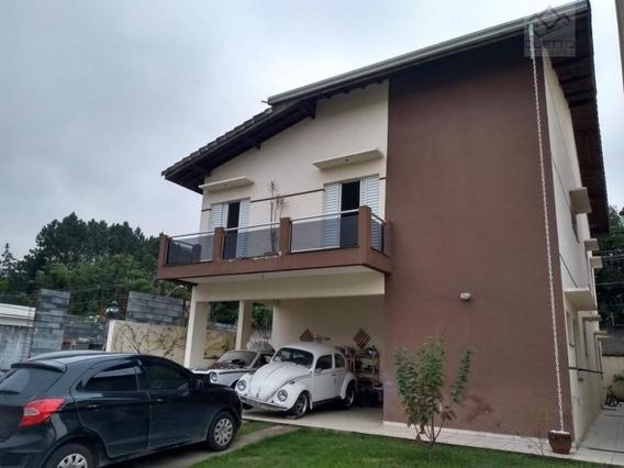 Sobrado Com 4 Dormitórios À Venda, 275 M² Por R$ 850.000 - Botujuru - Mogi Das Cruzes/sp - So0023