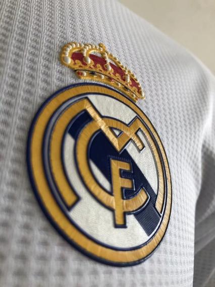 Camiseta Real Madrid 19-20, Versão Player, Champions League
