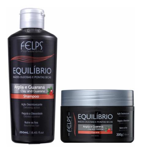 Felps Equilíbrio P/ Raízes Oleosas Shampoo +máscara + Brinde