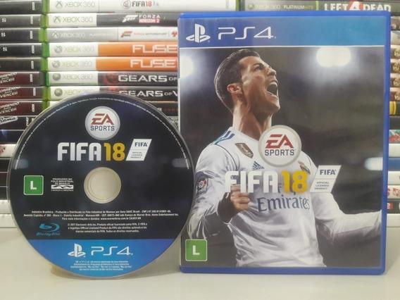 Fifa 18 Ps4 Jogo Original Playstation 4