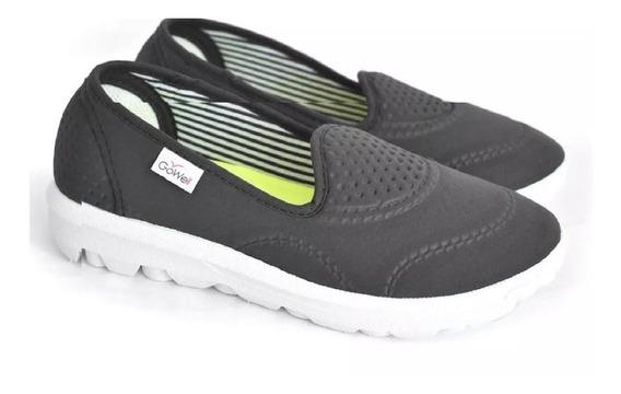 Zapatillas Tipo Panchas Livianas Mujer Tela Gowell 35 Al 41