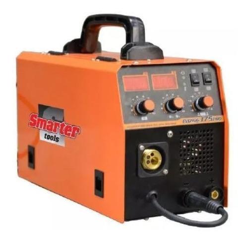 Soldadora Mig Mag Inverter Evomig 175 Con/sin Gas + Alambre