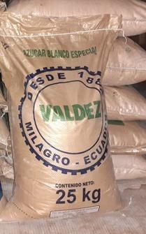 Azucar Valdez 25kg Sur De Quito
