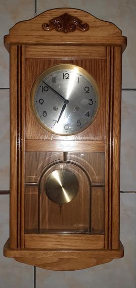 Belíssimo Relógio Semi Carrilhão Franz Hermle Germânico