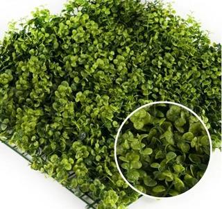Jardín Vertical Artificial - Muro Verde Panel Londres 50 Cm X 50 Cm