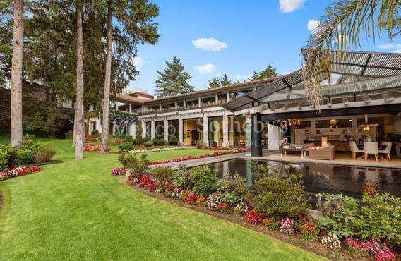 Espectacular Casa En Rancho San Francisco, Cdmx