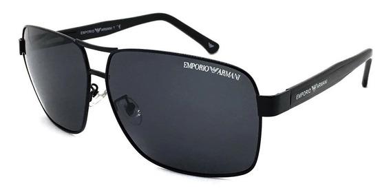 Oculos De Sol Masculino Ea2001 Premium Uv400 Com Brinde