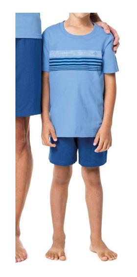 Pijama Algodão Juvenil Nº 10 Ao 16 Malwee