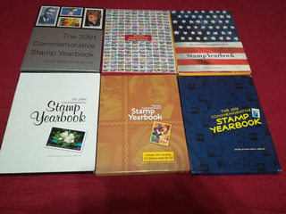 Libros Commemorativos De Estampillas 2001-2006 60mil Cu