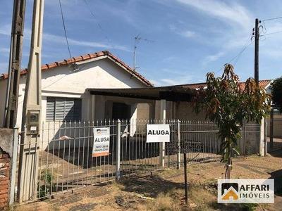 Casa Residencial Para Locação, Vila Belvedere, Americana. - Ca0271