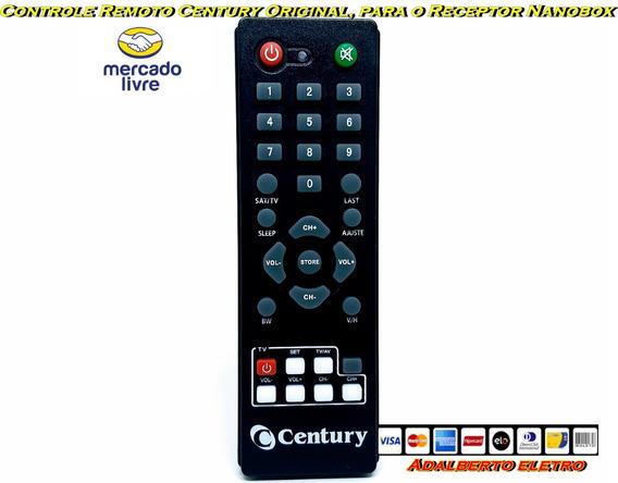 Controle Remoto Century Original Para O Receptor Nanobox