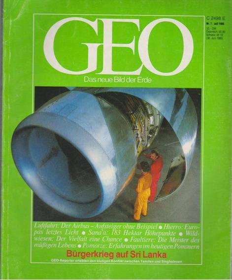 Revista Geo Nr. 7 Juli 1986 Germany