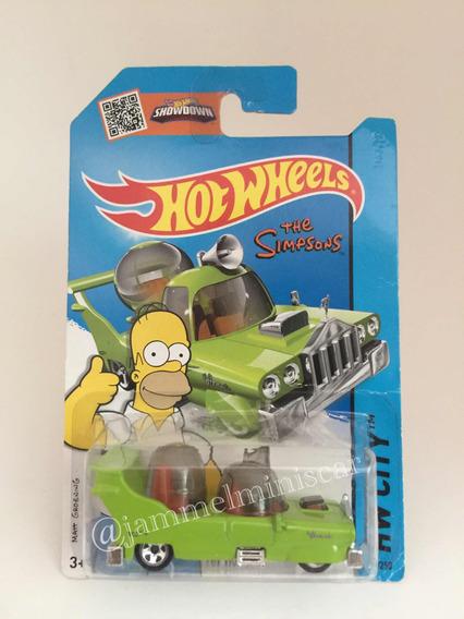 Miniatura Hot Wheels - The Homer Simpsons - Escala 1/64