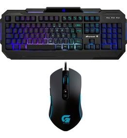 Kit Gamer Fortrek Com Teclado Pro K1 Rgb E Mouse Pro M7 Rgb