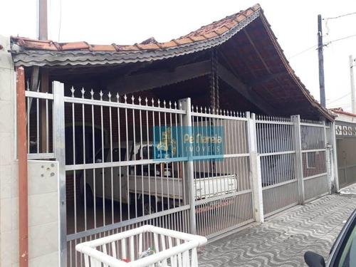 Casa Com 2 Dormitórios À Venda Por R$ 290.000,00 - Maracanã - Praia Grande/sp - Ca0160