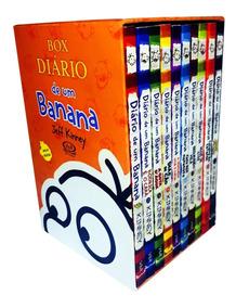 Box Diário De Um Banana 10 Volumes Acompanha Pôster
