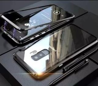 Case Magnético Hrebos Samsung S9 + Película De Gel C/borda