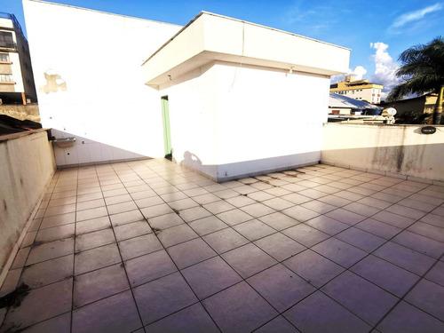 Cobertura Com 3 Quartos Para Comprar No Copacabana Em Belo Horizonte/mg - 2485