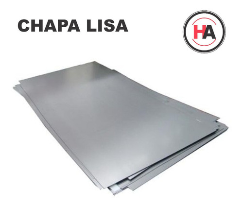 Chapa Lisa Laf #18 1.25 Mm 1,22 X 2,44 Mts - Lamin.frio - Ha