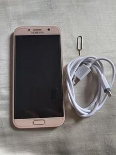 Samsung Galaxy A7 2017 4g 32gb Dual Chip Rosa Lindo...