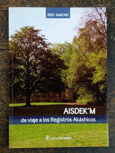 Imagen 1 de 5 de Aisdek´m De Viaje A Los Registro Akashicos * Eric Barone *