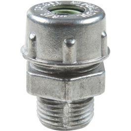 Kit Com 32 Peças Prensa Cabo Aluminio 3/8 + Arruela