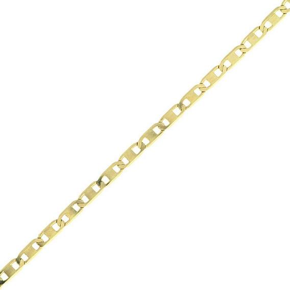 Pulseira Piastrine Masculina Ouro 18k