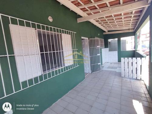Casa Com 2 Dorms, San Marcos, Itanhaém - R$ 180 Mil, Cod: 1401 - V1401