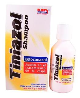 Shampoo Tiniazol Auxiliar En El Tratamiento De La Caspa