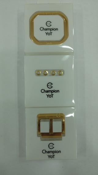 Kit De Acessorios Em Aluminino Relógio Champion Yot Original