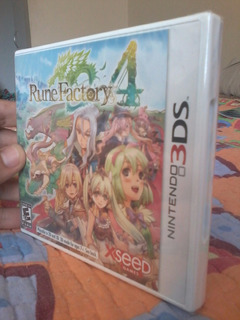 Rune Factory 4 Tales Of The Abyss Nintendo 3ds C/u