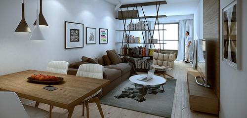 Venta Apartamento Penthouse 1 Dormitorio Pocitos. Parrillo