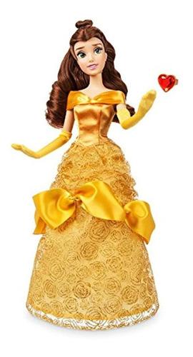 Imagen 1 de 2 de Disney Store Belle - Muñeca Clásica Con Anillo  La Belleza