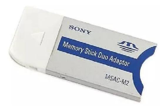 Adaptador De Cartão Sony Memory Stick Pro Duo Para Pro
