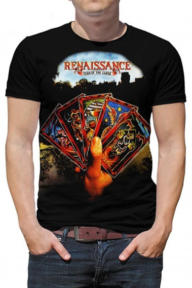 Camiseta Renaissance - Turn Of The Cards