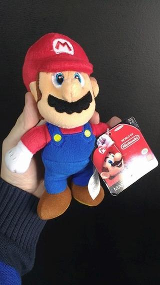 Pelucia Mario Super Mario - World Of Nintendo Nova Original