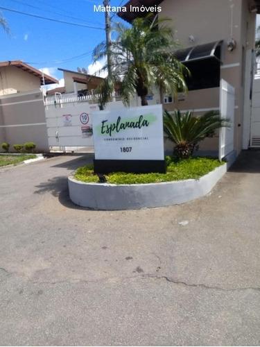 Condomínio Esplanada No Cidade Salvador Em Jacareí-sp - Cov374 - 69400714