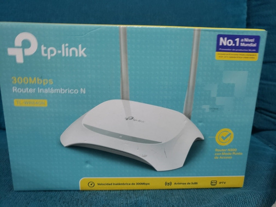 Router Tp-link 300mps Tl-wr840n