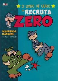 Hq Encadernada O Livro De Ouro Do Recruta Zero Nº 2 Obs*
