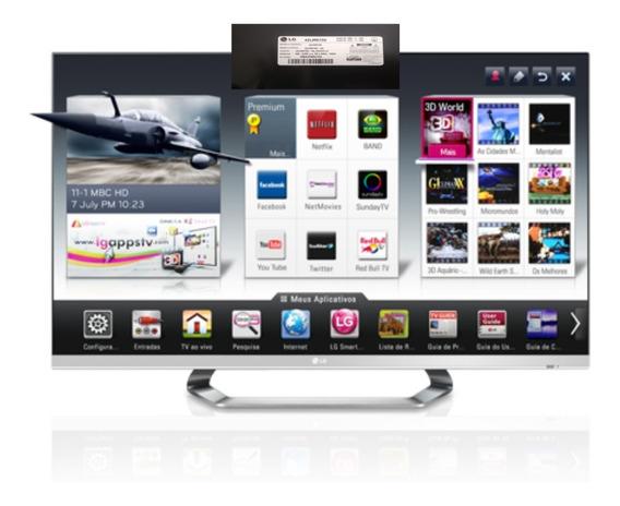 Tv Smart Lg 42lm6700