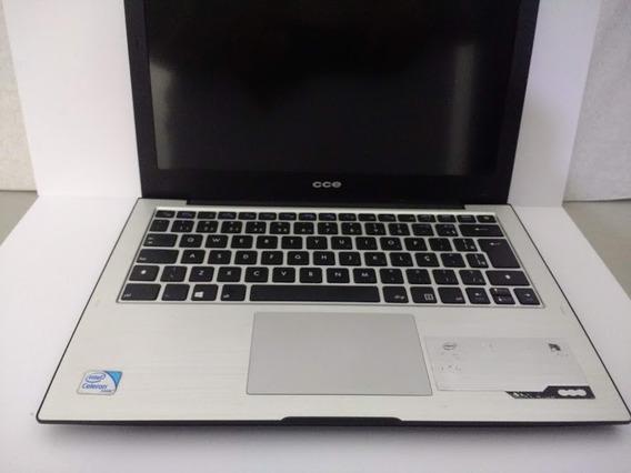Notebook Cce Win Ultra Thin S43 Tela Lcd Para Retirada Peças