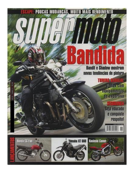 Supermoto N°15 Honda Cg Fan Yamaha Xt 660 Kasinski Comet