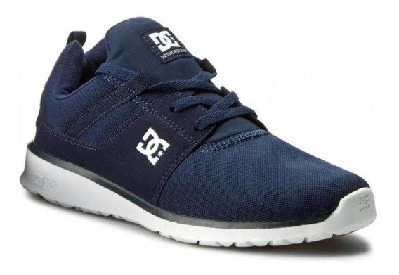 Tenis Dc Heathrow Azul Casual Adys700071 Original