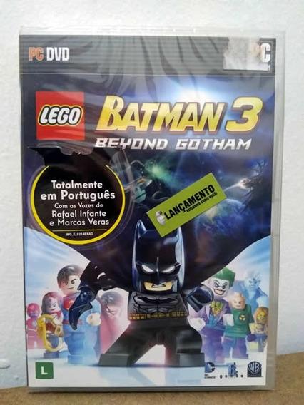Pc Lego Batman 3 Beyond Gotham! Mídia Física Novo E Lacrado