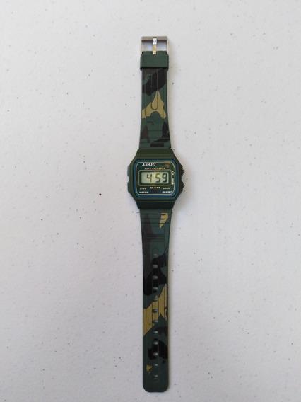 Reloj Asahi M-546 Digital Camuflajeado Militar 90