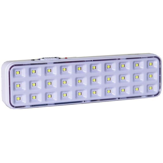 Kit 6 Und Lâmpada Luminária Luz Emergência 30 Leds Autovolt