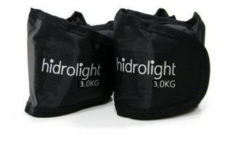 Caneleira Peso Kit 6 Kg. (2 Unid. De 3 Kg.) Hidrolight