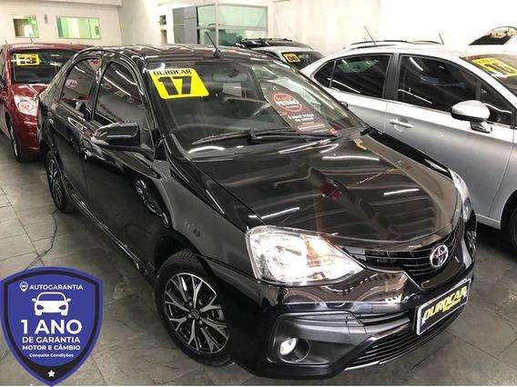 Toyota Etios Sedan Platinum 1.5 Aut. 2017 - Top De Linha