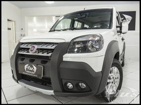 Fiat Doblo Adventure Locker 2014 Branco Gasolina