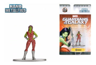 Gamora Guardianes Nano Metalfig Jada Metalicos Collectoys